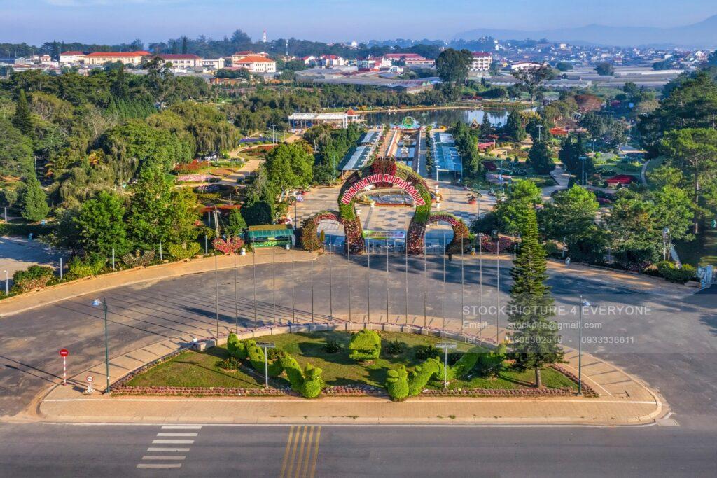 Vườn hoa thành phố Đà Lạt  datphongdalat.vn